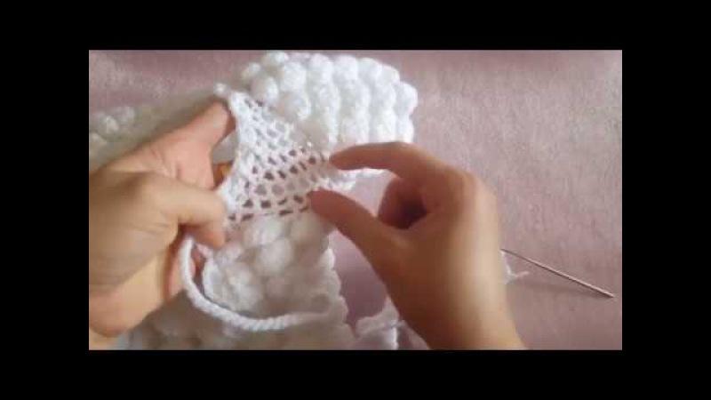 Topitop Bebek Yeleği Yapımı