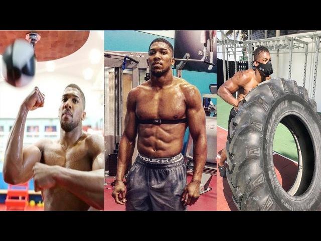 Тренировки Энтони Джошуа - самого МОЩНОГО НОКАУТЕРА в боксе