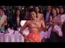Bride surprises Groom with a beautiful Indian Dance!