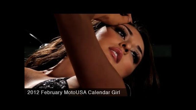 MotoUSA 2012 February Calendar Girl Jazmin
