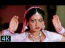 'Main Teri Dushman Dushman Tu Mera' 4K Video Song Sridevi Nagina