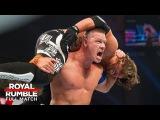 FULL MATCH - AJ Styles vs. John Cena - WWE Title Match: Royal Rumble 2017 (WWE Network Exclusive)