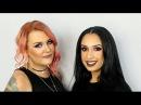 Burgundy/Glitter Smokey Eyes A Dark Matte Lip | Tutorial with Clare Sydney Pro Team