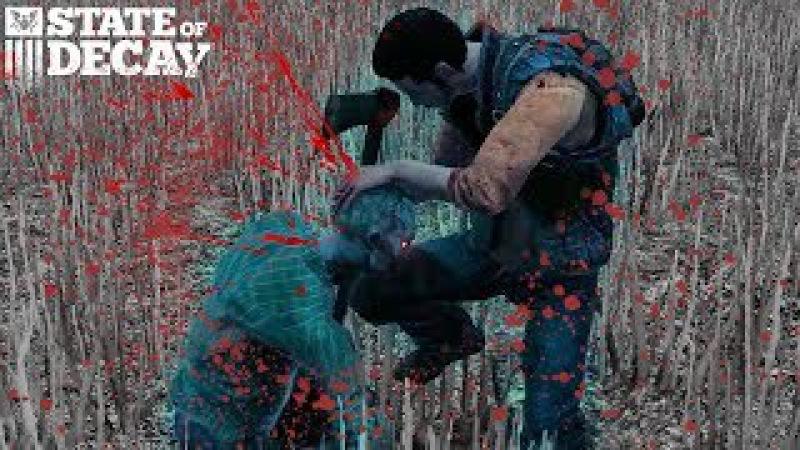 Зачистка фермы и Большой Военный Груз в игре про Зомби Апокалипсис State of Decay от FGTV