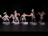 How to Paint 5 Easy Skin Tones - Garreks Reavers (Part 1) - Warhammer Underworlds Shadespire