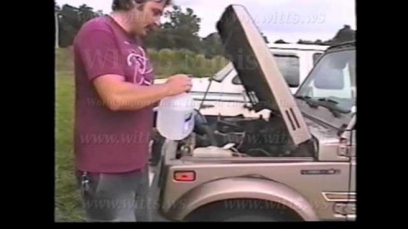 Water Powered Car!! - Suzuki Samurai Runs on 100% Water [witts.ws]