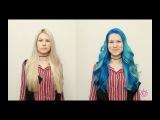 KATO_Katosha - Синий цвет волос