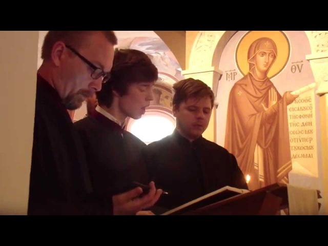 2014-07-13 Серафим Астахов. Апостольское чтение (Рим 10, 1-10):