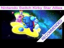 Nintendo Switch Kirby Star Allies Final Boss and Ending, very COOL game recommended