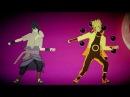 MMD Naruto and Sasuke MONSTER