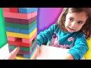 CEMRE SU İLE RENKLİ JENGA OYNADIK BAKALIM KİM KAZANDI Eğlenceli oyunçocuk videoları izle