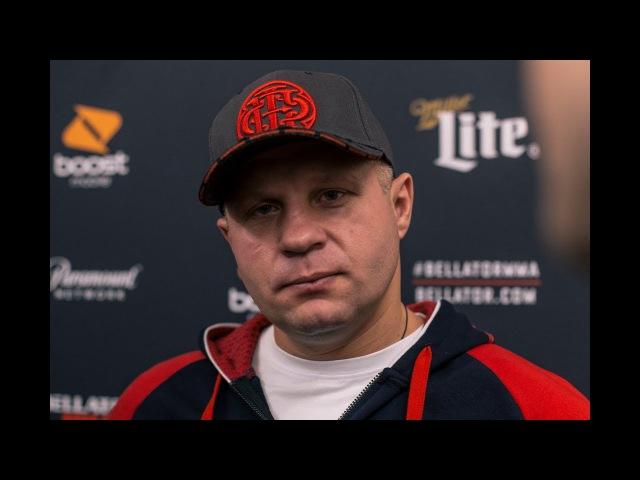 Fedor Emelianenko Explains Motivation For Competing in Bellator Grand Prix - MMA Fighting