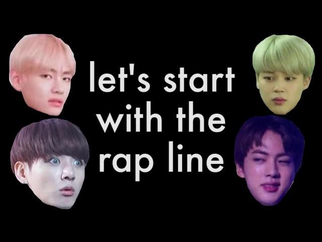 BTS Parallel Universe Intro the the Rap Line