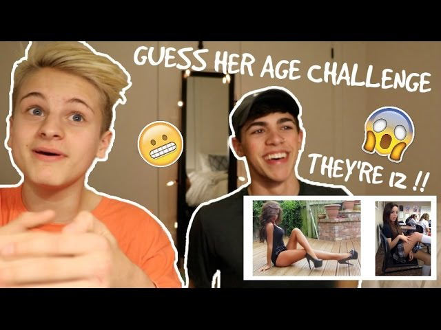 GUESS HER AGE CHALLENGE!! w/ DuhItzMark