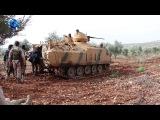 جانب من الاشتباكات التي درات بين الجيش الح&#1
