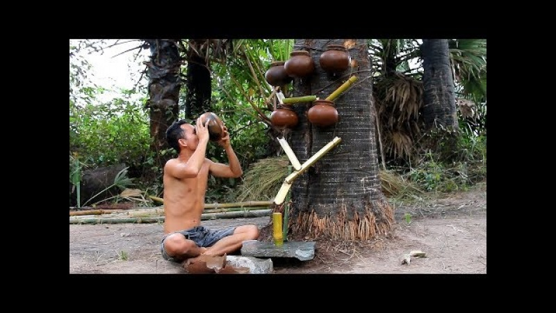 Primitive Skills Technology: Build A Primitive Filter Dirty Water Using Clay Pot