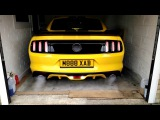 2018 super charged UK GT FORD Mustang SHELB start up MONSTER SOUND MOTOR