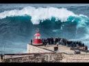 Самые большие волны в мире Назаре Португалия