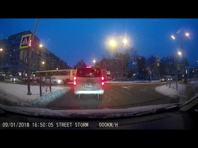 ДТП на Замшиной улице