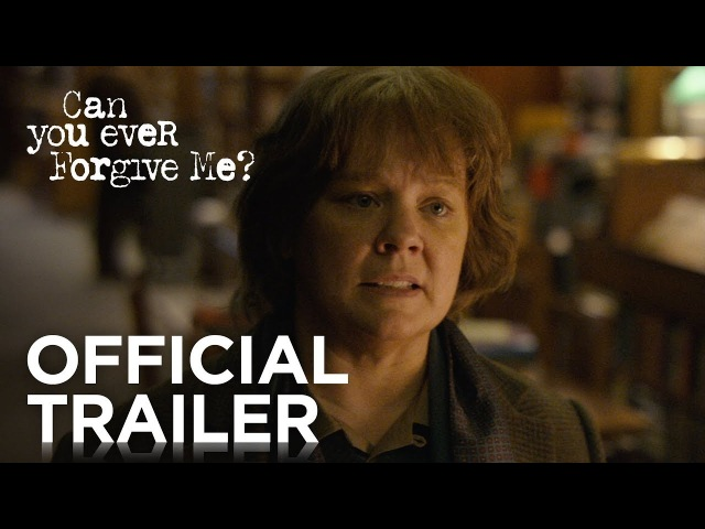 CAN YOU EVER FORGIVE ME | Official Trailer [HD] | FOX Searchlight