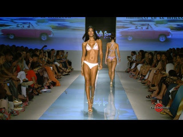 Luli Fama Swimwear S S 2018 Runway Show @ Miami Swim Fashion Week FUNKSHION 5 cameras LIVE edit
