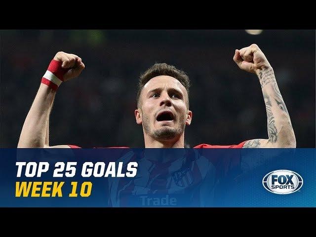 Лучшие голы 10 евро-недели 2018