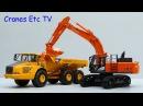 TMC Hitachi ZX 470 LCH-5 Excavator by Cranes Etc TV