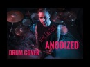Fear Factory - Anodized - Drum Cover(Pavel Mosin)