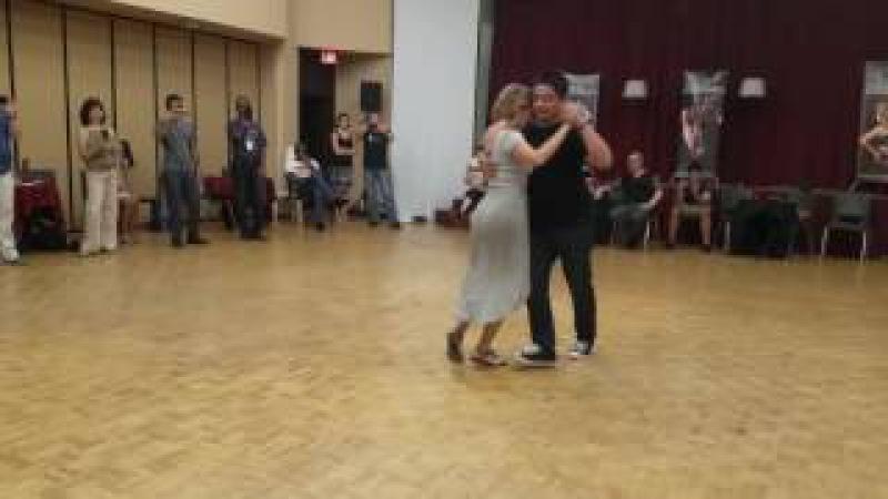 Argentine tango workshop: Noelia Hurtado Carlitos Espinoza - inertia