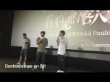2017.9.10 Un día grande: Contratiempo se estrena en China! El director Oriol Paulo @uripaulo es super guay! Jiji como un fan de