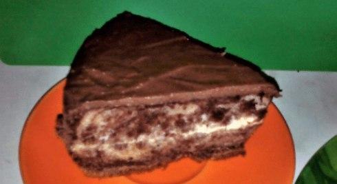 Советский торт зебра