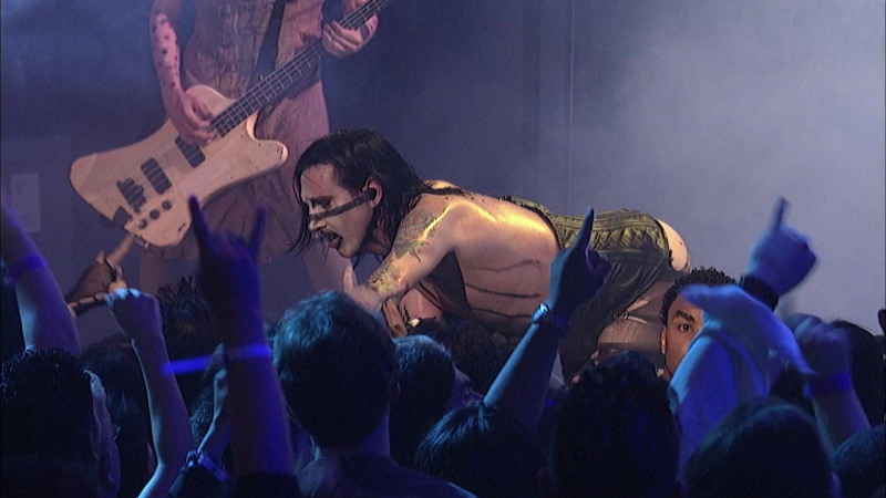 Marilyn Manson - The Beautiful People Live