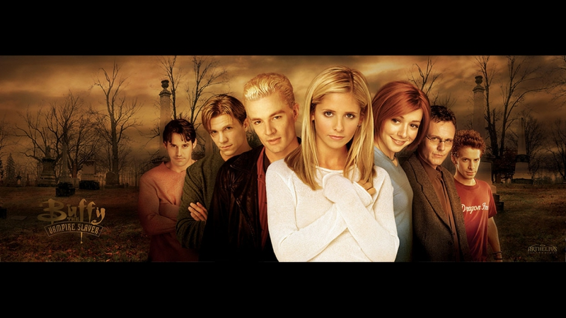 Баффи истребительница вампиров Buffy the Vampire Slayer 2 сезон серии 1 по 8