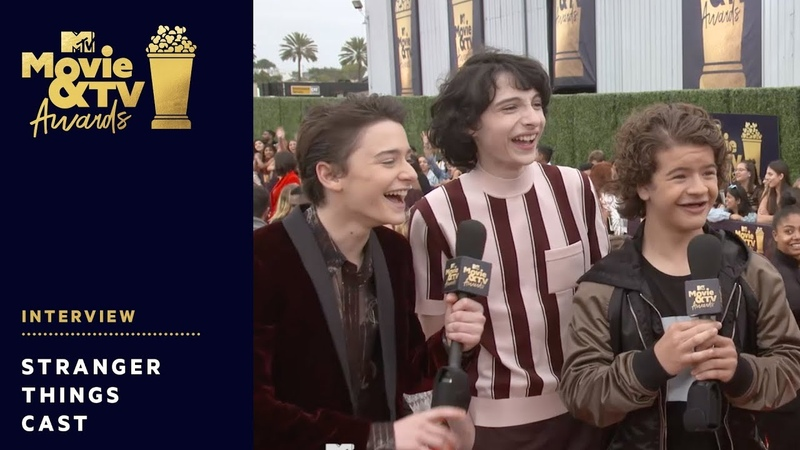 'Stranger Things' Cast send Get Well Wishes to Millie Bobby Brown | 2018 MTV Movie TV Awards | MTV