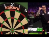 Peter Wright vs Gary Anderson (2018 Premier League Darts Week 4)