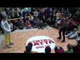 СИТИ БАТТЛ vol IV BREAK DANCE первые шаги BBOY КИРИЛЛ ws BGIRL Яна ( win)