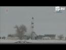 Запуск ракеты-носителя «Союз 2.1а» с космодрома Байконур