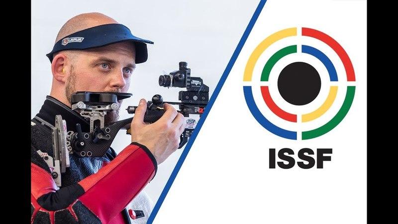 Interview with Steffen OLSEN (DEN) - 2018 ISSF World Cup Stage 3 in Fort Benning (USA)