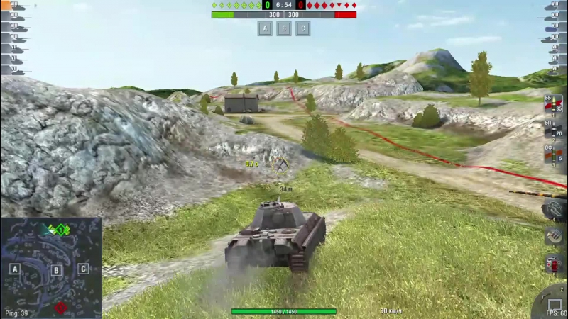 WoT Blitz Panther II Мастер