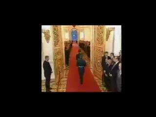 Фрагмент фильма о Владимире Путине: Церемония инаугурации Президента Российской Федерации.
