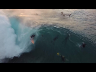 Surf From Above - Drone Footage of Pipeline