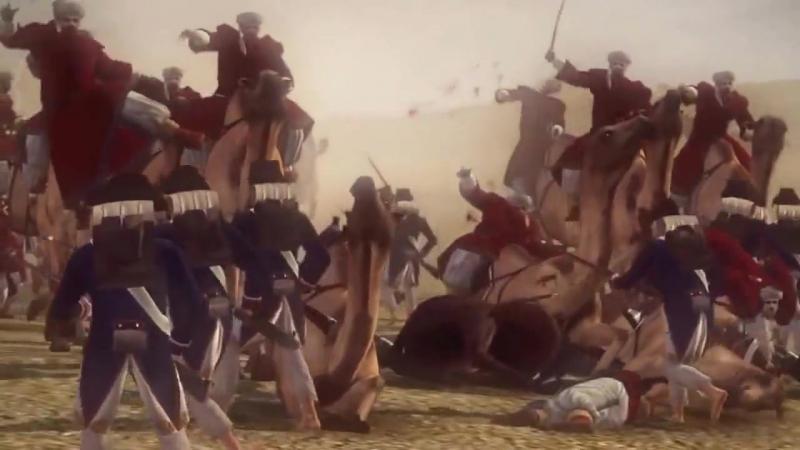 Napoleon-Total-War-Bataille-des-Pyramides-vu-par-ALEX-MERCIER-MARECHAL-FLUVORE