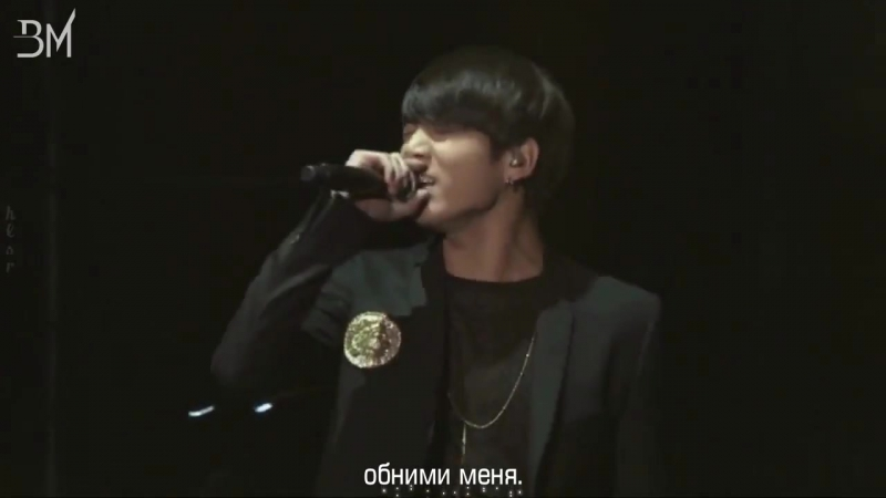 [RUS SUB] BTS - Hold Me Tight @ on stage concert