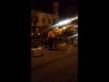 Полное бездействие Клинских властей.Очередной мусоровоз перевернулся в центре Клина