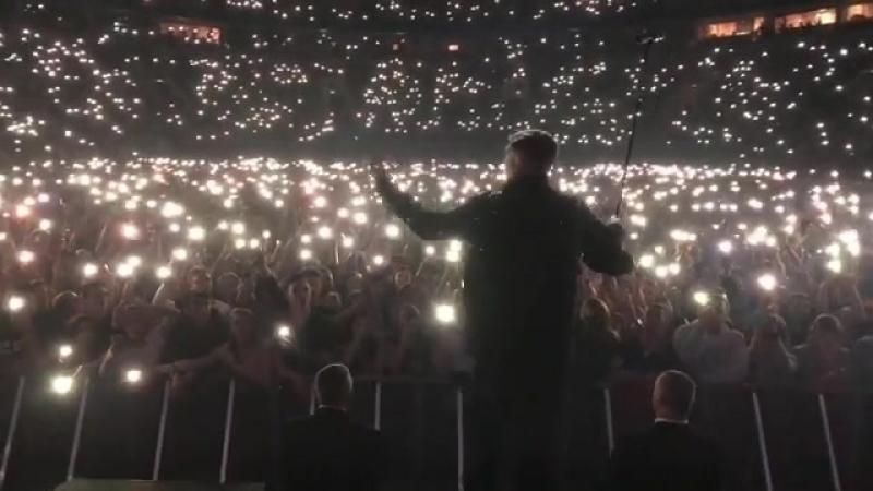 Баста отметил день рождения сразу тремя громкими концертами