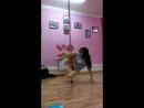 Танц.комбинашка для продвинутых