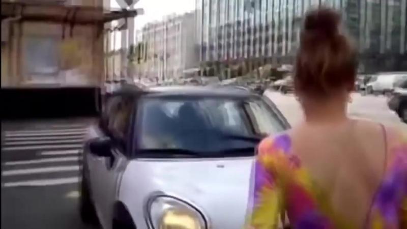 ТП за рулем, четкая подборка девушек-водителей..