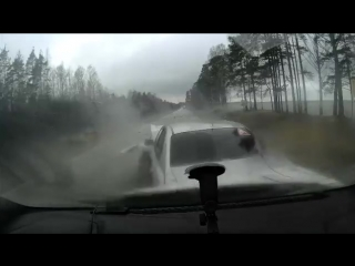 ДТП по дороге Большая Ижора - Лебяжье