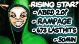 Who is this guy?! WTF New Meepo Pro? Abed 2.0? UNREAL 673 Lasthits in 30min + Rampage - EPIC Dota 2