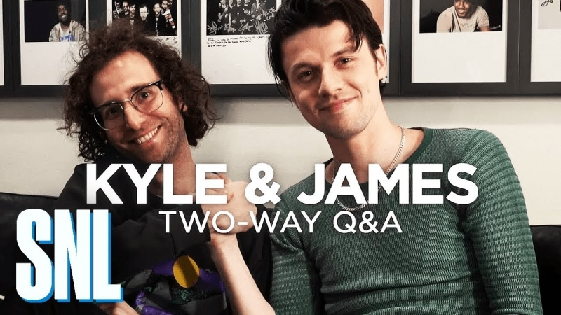 Two-Way QA: James Bay and Kyle Mooney - SNL
